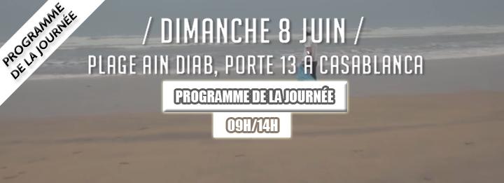 BAHRI DIMA CLEAN : Programme de la journée du 08 Juin 2014